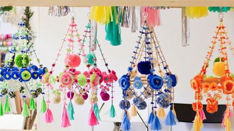 5 lámparas Pajaki DIY para fiestas