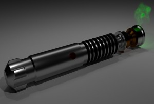 espada láser DIY STAR WARS