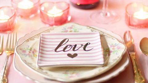 Cena romántica de San Valentín DIY (Parte 2)