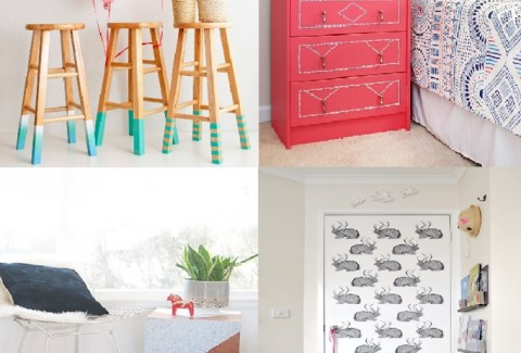 10 ideas DIY para renovar muebles