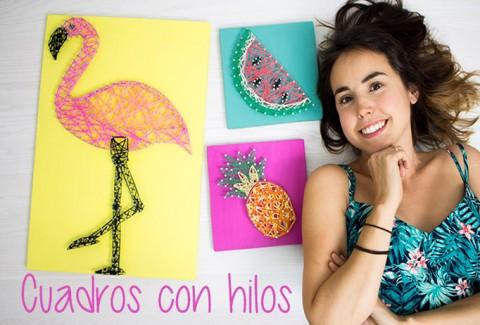 Cuadro con hilos DIY – DIY String art
