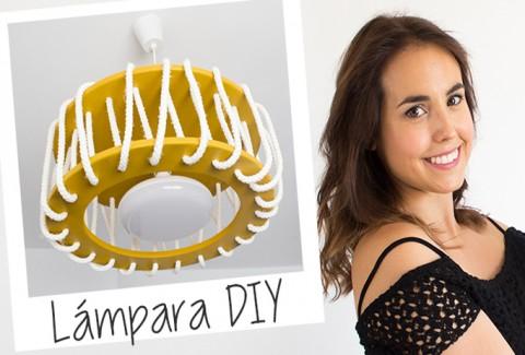 Lámpara con cuerdas DIY – Hazlo tú mismo