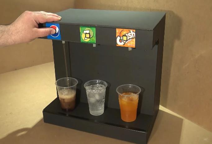 Maquina refill bebidas y cerveza DIY