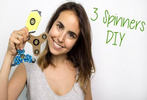 3 Spinners DIY