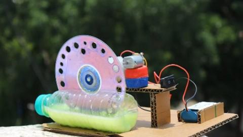 Crea tu propia Máquina de burbujas DIY