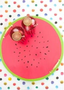 macetas DIY y bandeja diy frutas