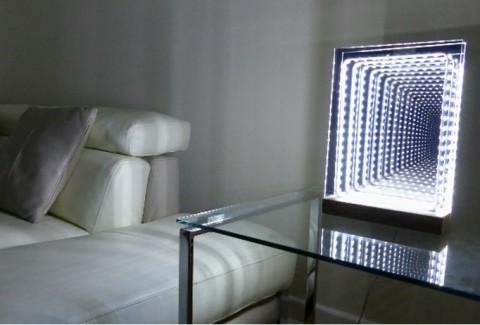 Espejo LED infinito DIY