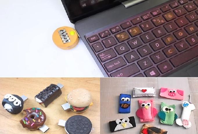 Crea tu propia memoria USB con código de seguridad DIY