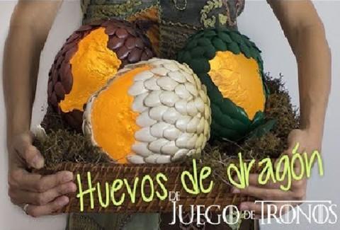 Huevos de Dragón – DIY Juego de tronos – GOT
