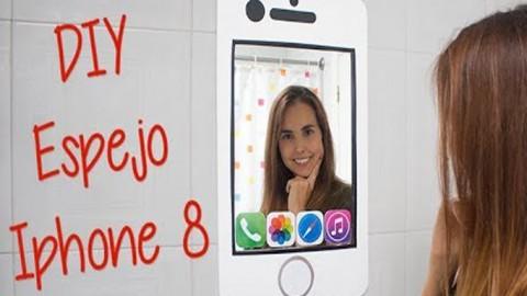 iPhone 8 Espejo DIY – Hazlo tú mismo