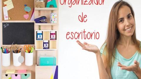 Organizador de escritorio DIY – Hazlo tú mismo