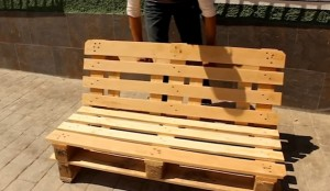 DIY pallets chill Out