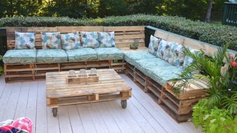 Crea tu espacio Chill Out DIY con pallets reciclados