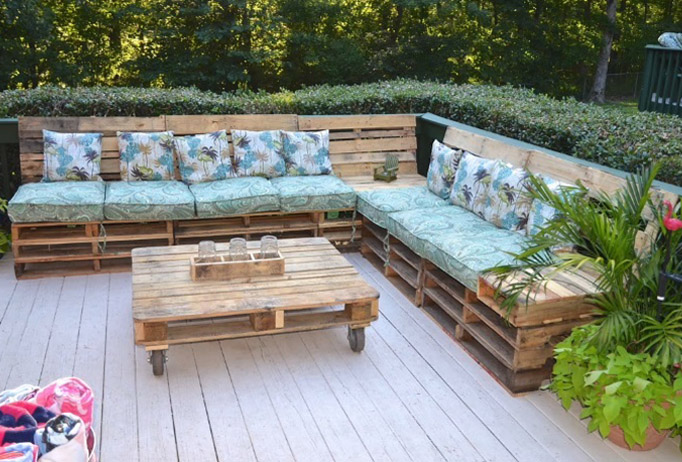 Crea tu espacio chill out diy con pallets reciclados - Espacio chill out ...