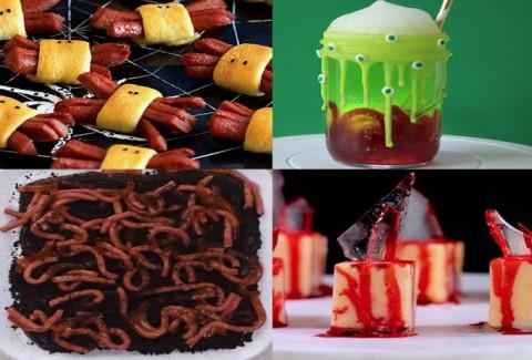 10 ideas de cocina para Halloween DIY-Hazlo tú mismo