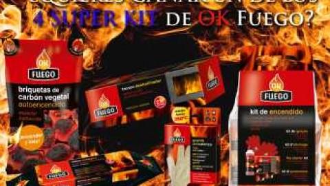 Sorteo 'Prepara Gratis tu casa para el frío con OK Fuego'