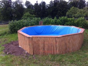 piscina DIY