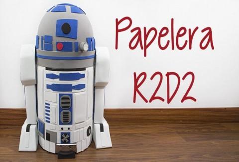 Papelera R2-D2 Star Wars 8 DIY-Hazlo tú mismo