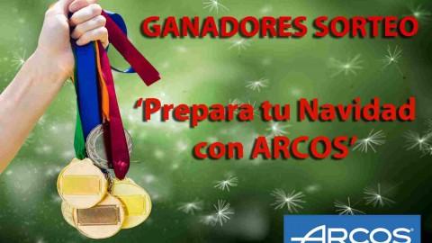 Ganadores del sorteo 'Prepara tus comidas de Navidad con ARCOS'