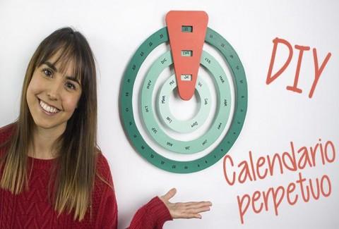 Calendario Perpetuo DIY-Hazlo tú mismo