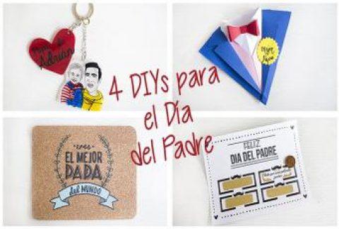 4 regalos para el Día del Padre DIY – Hazlo tú mismo