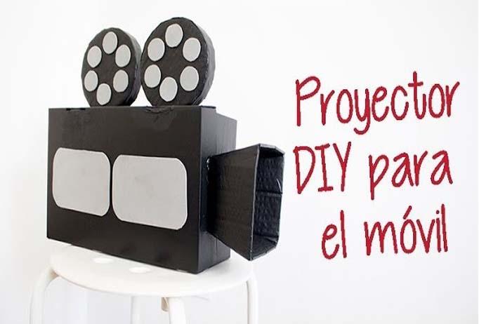 Proyector de cine Oscars DIY-Hazlo tú mismo