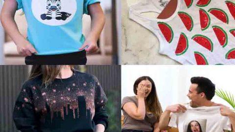 Camisetas personalizadas DIY – Hazlo tú mismo