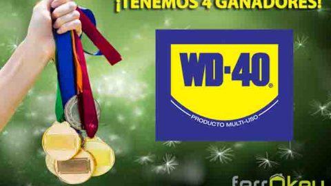 Ganador sorteo WD-40: El lubricante de los 2000 usos