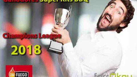 Ganadores Sorteo 'Vive con emoción esta Final de Champions 2018 con OKFuego y ferrOkey'