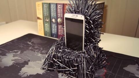 Cargador Trono de hierro Juego de tronos DIY