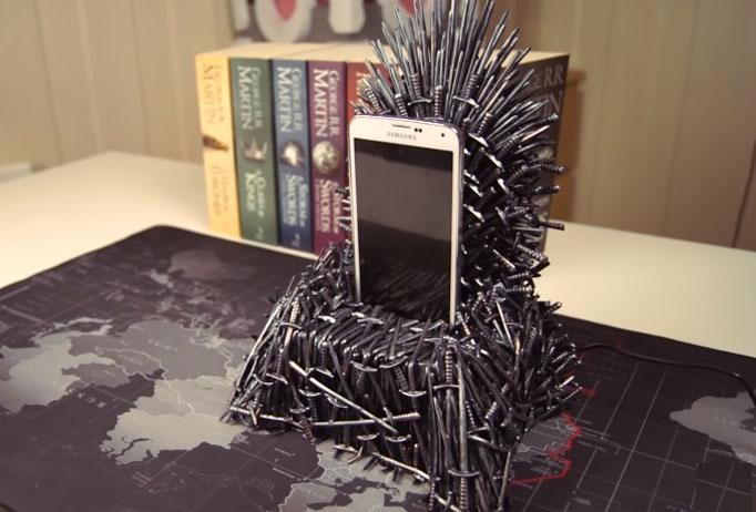 Cargador trono de hierro juego de tronos diy ferrokey - Trono de hierro ...