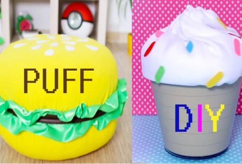 Dale un toque a tu casa con estos 2 Puff DIY