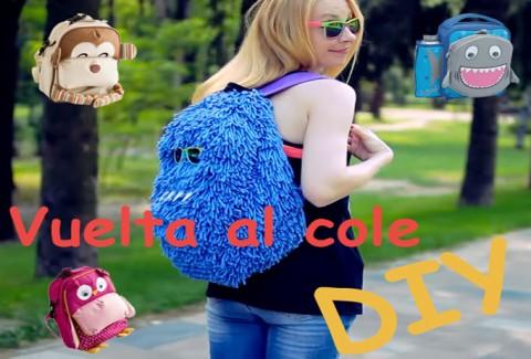 Vuelta al cole con tu nueva mochila DIY