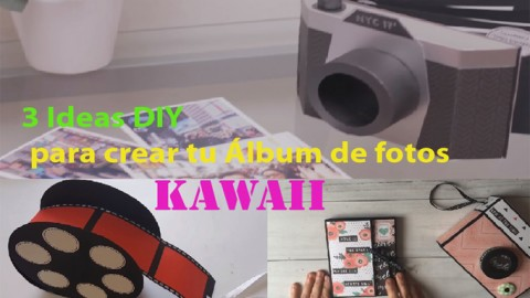 3 ideas para crear tu Álbum de fotos Kawaii DIY