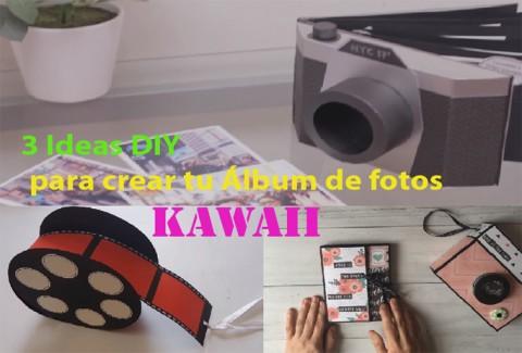 3 ideas para crear tu Álbum de fotos Kawaii DIY