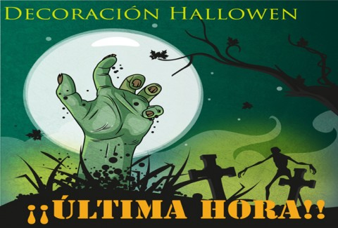 Decoración última hora Halloween