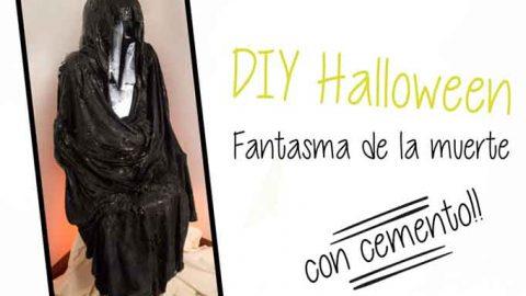 Fantasma de cemento Halloween DIY-Hazlo tú mismo