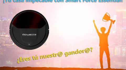 Ganador Sorteo Rowenta ¡Tu casa impecable con el mínimo esfuerzo conSmart Force Essential de Rowenta!