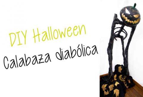 Halloween – Calabaza diabólica DIY