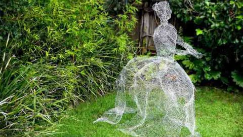 Mujer fantasma DIY-Hazlo tú mismo