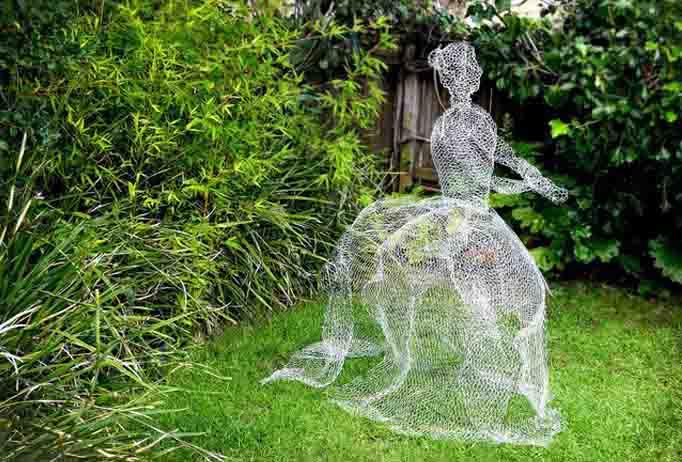 Mujer fantasma DIY-Hazlo tu mismo