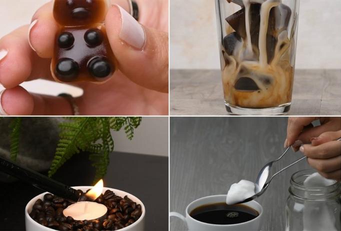 Aprende 6 ideas originales con caf DIY Hazlo t mismo