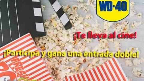 Sorteo WD-40 el lubricante de los 2000 usos te lleva al cine