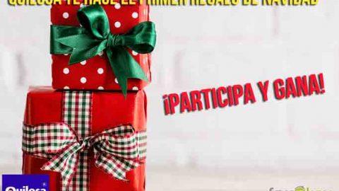 Sorteo Tu primer regalo de Navidad con Quilosa