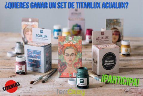 Sorteo Da rienda suelta a tu creatividad con Titanlux Acualux