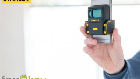 Estimaciones profesionales en pocos minutos con el dispositivo de medición digital Smart Measure Pro de STANLEY