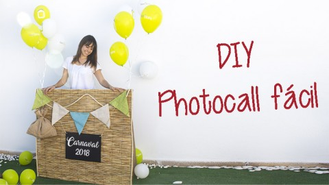 Photocall fiestas Carnaval DIY-Hazlo tú mismo