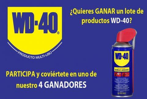 Sorteo WD-40: El lubricante de los 2000 usos