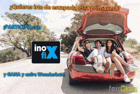 ¿Quieres escaparte esta primavera? Participa y gana un cofre Wonderbox con Inofix