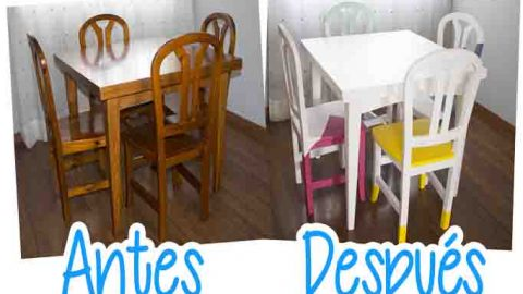 Renueva tus muebles de madera estilo nórdico  DIY – Hazlo tú mismo